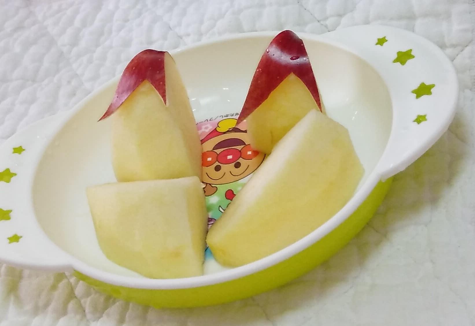【うさぎりんご】に40代半ばにして初挑戦してみたら意外と簡単でした